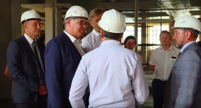 Ангарск посетил председатель Законодательного собрания Иркутской области Сергей Брилка.