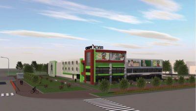 Уникальный спортивный комплекс «СпортХолл» строят в Ангарске